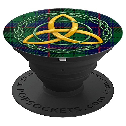 - Celtic Trinity And Davidson Tartan Plaid - PopSockets Grip and Stand for Phones and Tablets