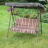 OPEN BOX Naples/Riverside 2 Seater Swing Replacement Canopy