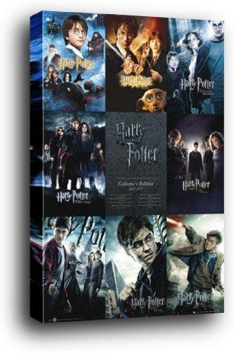 Harry Potter Cartel Montado En Madera - Toda La Colección De ...