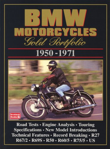BMW Motorcycles Gold Portfolio 1950-1971
