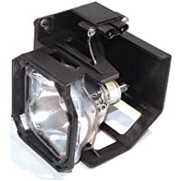 Electrified 915P028010 Replacement Lamp with Housing for Mitsubishi TVs