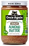 Once Again Organic Almond Butter, Crunchy, 16 oz