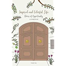 Inspired and Colorful Life: Doors of Opportunity - A Coloring Journal