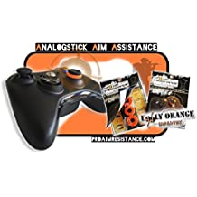 "AAA-Shocks: FPS Controller Mod Analogstick Aim Assistance Shock Absorbers (""uggly orange infantry"" Edition) - Improve Your Aiming"