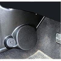 Kick Panel 6.5 Component Speaker Mounts (Pair) for Chevy Camaro and Pontiac Firebird 1967-1969 BLACK