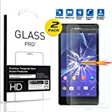 For Sony Xperia Z2 Tempered Glass Screen Protector (pack 2) - Amaxy