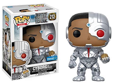 Figura Cyborg Exclusive 212 Funko POP Vinyl Justice Lea