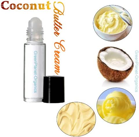 Set of 2: Coconut Buttercream Fragrance Oils (Phthalate & Alcohol Free. Proudly Made in USA) Vegan Friendly