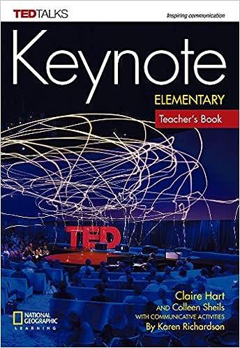 Keynote Elementary Teacher's Book
