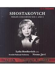 Shostakovich:Violn Concertos nos. 1 and 2 [ Lydia Mordkovitc; Scottish National Orchestra : Neeme Jarvi] [CHANDOS: CHAN 10864 X]