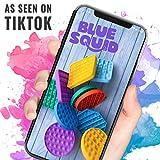 Blue Squid Push Pop Bubble Fidget Sensory Toy