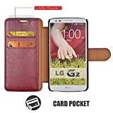 Mulbess Two-Tone Design Phone Wallet for LG G2