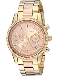 Women's Ritz Gold-Tone Watch MK6475