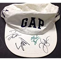 Hootie And The Blowfish Autographed Signed Hat By All 4 Band Members Jsa Coa Darius Rucker