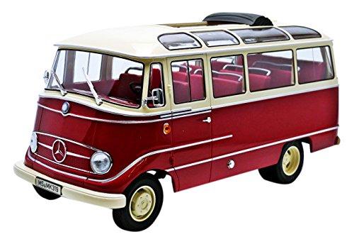 Norev – 183410 – Mercedes-Benz O319 – Echelle 1/18 – Rot/Beige