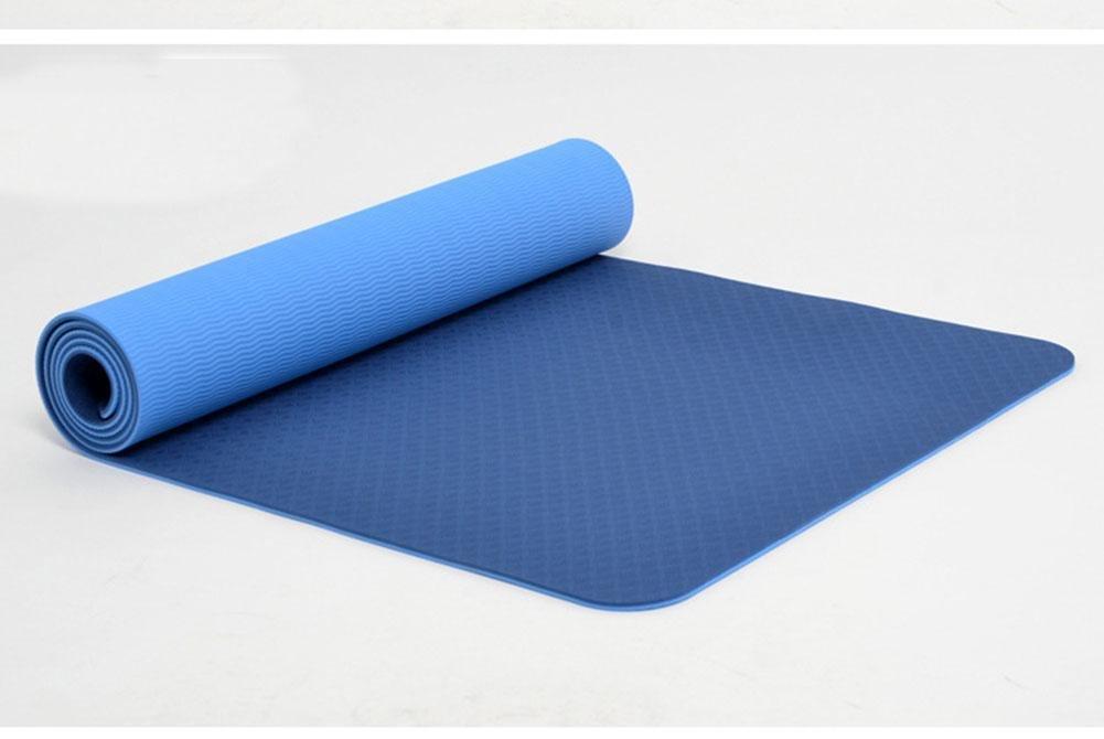 HZJ Yoga Mat Non Slip Perfektes Design Yoga Und Pilates Sport, Und Mehr Sicher Komfortable NatüRliche Eco-NBR Material