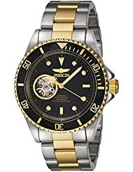 Invicta Mens Pro Diver Automatic Stainless Steel Diving Watch, Color:Two Tone (Model: 20438)