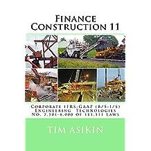 Finance Construction 11
