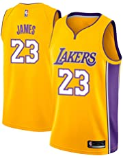 4d360cd87db runvian Men s Jersey - NBA Lakers  23 Lebron James Mesh Basketball Swingman  Jersey