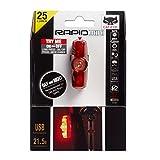 CAT EYE - Rapid Mini Rear Rechargeable LED Bike