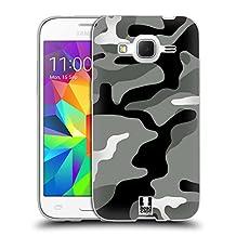 Head Case Designs Night Shift Military Camo Soft Gel Case for Samsung Galaxy Core Prime