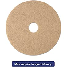 3M Ultra High-speed Natural Blend Tan Burnishing Floor Pad 3500 - Round, 20 inch, Natural Hair And Synthetic Fiber -- 5 per case.