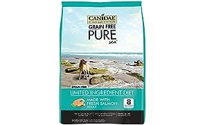 CANIDAE Grain Free PURE Sea Dog Dry Formula with Real Salmon