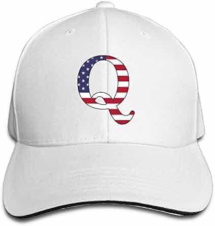 37610ccc59a ZETAPS QAnon American Flag Adult Twill Baseball Hat Sandwich Hats