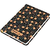 Daily Planner 2018, Calendar Schedule Organizer and Journal Notebook,Non Dated Day (7.48in5.31in, Black Adonis)