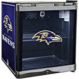 Glaros Officially Licensed NFL Beverage Center / Refrigerator - Baltimore Ravens