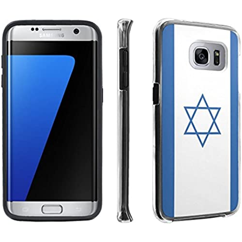 Samsung Galaxy S7 Edge / GS7 Edge [5.5 Screen] Case, [SkinGuardz] Hybrid Tough Impact Resistant Case - [Israel Sales