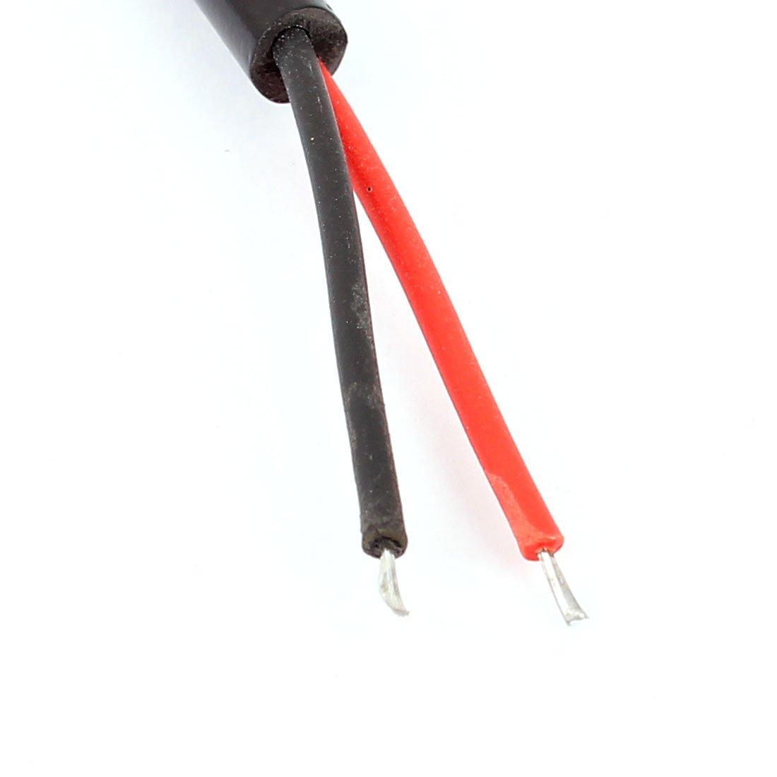 Sourcingmap/® 4/pcs 2,1/x 5,5/mm femelle prise dalimentation DC connecteur de c/âble 27/cm pour cam/éra de vid/éosurveillance