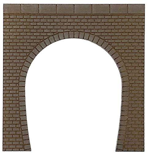 포 폰 데《다》 포 포 프로 디오라마 콜렉션 「memory's」 N게이지 터널 포털 벽돌 단선 갈색 MS-001 디오라마 용품