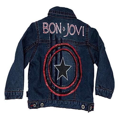 The Kids Shoppe Bon Jovi Custom Denim Jean Jacket (Custom Denim Jacket)