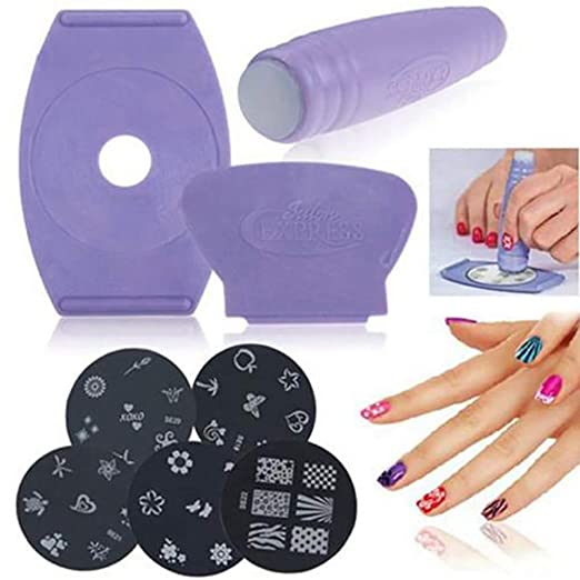 Juego de manicura para impresora de uñas, máquina de arte de ...