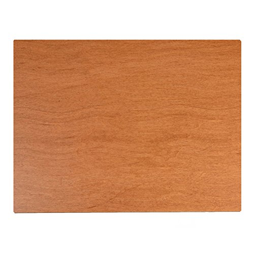 New Wave Palette, Posh Table Top, Wood, Fits in Masterson Sta-Wet Painters Pal, 9 x 12 inches (00505)