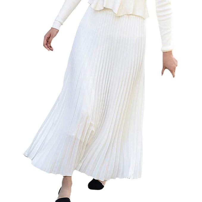 df1b9cc75e7e Donna Gonna Lunga Vestito A-Lino Vintage Maxi Gonna Gonne Abito Vestiti  Mini Gonna da