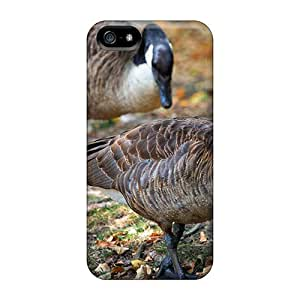 New Fashionable CaroleSignorile Gcd15607pujp Covers Cases Specially Made For Iphone 5/5s(wild Goose)
