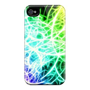 Iphone 4/4s Wtyfktp3890OjgjW Abstract Spectrum Tpu Silicone Gel Case Cover. Fits Iphone 4/4s by icecream design