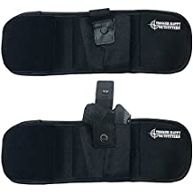 Ankle Holster – ALWAYS PROTECT YOUR LOVED ONES AND NEVER WORRY ABOUT SAFTEY AND SECURITY AGAIN – Fits Soft Around the Ankle – Hand Specific Design – by Trigger Happy Outfitters