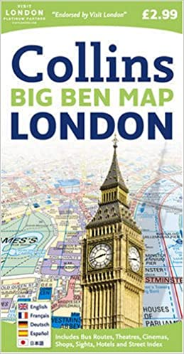 london big ben map amazoncouk collins 9780007273843 books