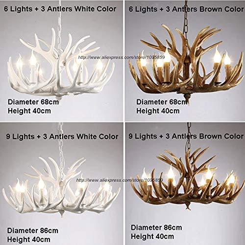 Amazon.com: Faros de araña con luces LED de color marrón y ...