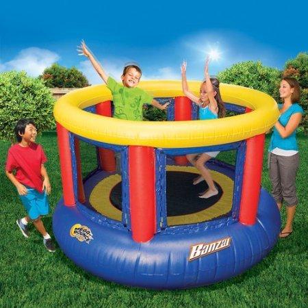 Banzai 96'' Mega Bounce Trampoline 8'D x 5'5''H by Banzai
