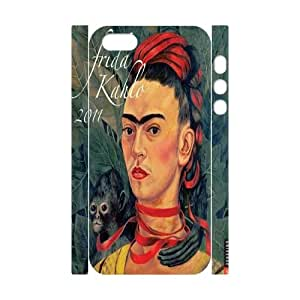 Fggcc Frida kahlo Case for 3D Iphone 5,5S,Frida kahlo Iphone 5,5S Cell Phone Case (pattern 7)
