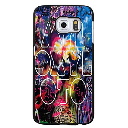 Samsung Galaxy S6 Edge Plus Coldplay Hybrid Cover Shell Fashion Fancy Printed Britpop/Alternative Rock Band Coldplay Phone Case Cover for Samsung Galaxy S6 Edge Plus