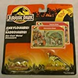 Jurassic Park Die-Cast ANKYLOSAURUS AND HADROSAURUS Mini Dinosaurs by Tonka Kenner