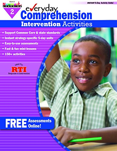 - Everyday Intervention Activities for Comprehension Grade 2