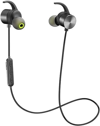 A-Nice Auriculares magnéticos Bluetooth 4.1 para Auriculares ...