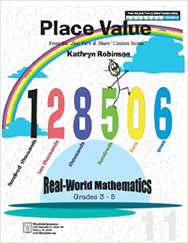 Place Value Worksheets | 3rd, 4th, 5th Grade Math (Just Turn and ...