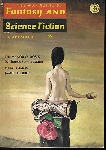 The Magazine of FANTASY AND SCIENCE FICTION (F&SF): November, Nov. 1966:  F&SF (Thomas Burnett Swann; Bryce Walton; Ed. M. Clinton; Norman Spinrad;  Brian: Amazon.com: Books